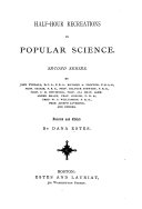 Half-hour Recreations in Popular Science