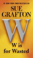W is for Wasted Pdf/ePub eBook