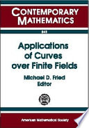 Applications Of Curves Over Finite Fields