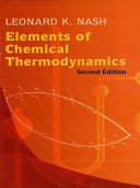 Elements of Chemical Thermodynamics [Pdf/ePub] eBook