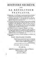 Histoire Secrète De La Révolution Française