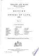 ... Return of Owners of Land, 1873