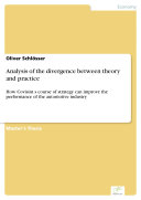 Analysis of the divergence between theory and practice