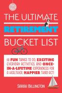 The Ultimate Retirement Bucket List Pdf/ePub eBook