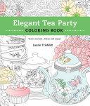 Elegant Tea Party Coloring Book