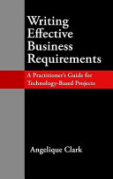 Writing Effective Business Requirements