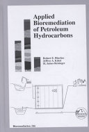 Applied Bioremediation of Petroleum Hydrocarbons Book