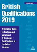 British Qualifications 2019
