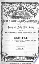 The Missing Link Magazine  Or  Bible Work at Home and Abroad Book