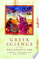 Greek Science Of The Hellenistic Era Book PDF