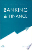 Academic Foundation S Bulletin On Banking Finance Volume 2 Book PDF