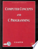 Computer Concepts and C Programming