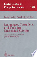 Languages, Compilers, and Tools for Embedded Systems