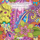 Seamless Flower Patterns Coloring Book for Grown Ups 1