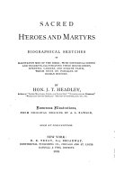 Sacred Heroes and Martyrs