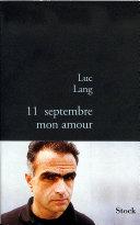 11 septembre, mon amour Pdf/ePub eBook