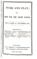 Pdf Work and play; or, Help for the night school