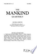 The Mankind Quarterly