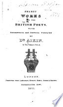 Select Works of the British Poets