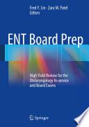 Ent Board Prep Book PDF
