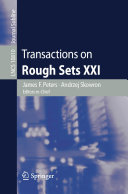 Transactions on Rough Sets XXI