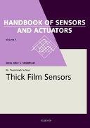 Thick Film Sensors