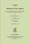Flora of tropical East Africa   Woodsiaceae  2003
