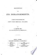 Dentition and Its Derangements Book