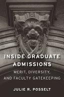 Inside Graduate Admissions Book