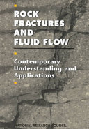 Rock Fractures and Fluid Flow: