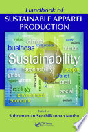 Handbook of Sustainable Apparel Production Book