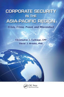 Pdf Corporate Security in the Asia-Pacific Region