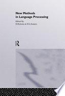 New Methods In Language Processing