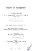 Tracts on mechanics, by M.W. Crofton, E. Kensington