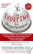 """The DASH Diet for Hypertension"" by Mark Jenkins, Thomas J. Moore"
