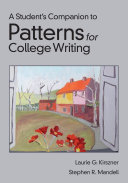 A Student's Companion for Patterns for College Writing