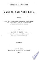 Physical Laboratory Manual and Note Book