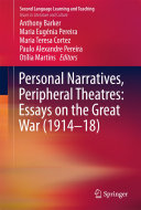 Pdf Personal Narratives, Peripheral Theatres: Essays on the Great War (1914–18) Telecharger