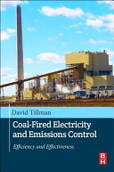 Coal Fired Electricity and Emissions Control Book