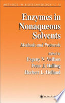 Enzymes In Nonaqueous Solvents