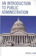 Pdf An Introduction to Public Administration