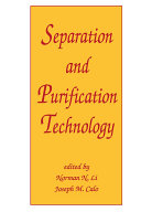 Separation and Purification Technology ebook