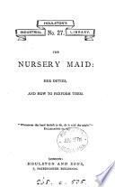 The nursery maid