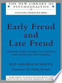 Early Freud and Late Freud