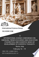 Theoretical and scientific bases of development of scientific thought