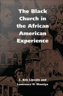 The Black Church in the African American Experience Pdf/ePub eBook