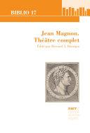 Pdf Jean Magnon. Théâtre complet Telecharger