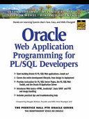 Oracle Web Application Programming for PL SQL Developers
