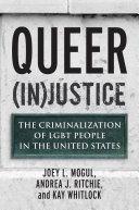 Queer (In)Justice Pdf/ePub eBook