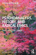 Psychoanalysis  History  and Radical Ethics